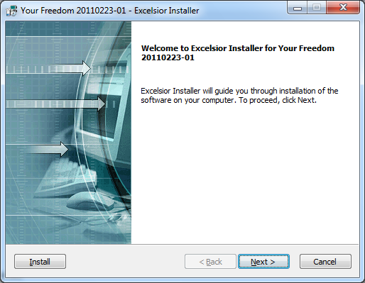 Internet Gratuit Illimité  Comment installer Your-Freedom sur Windows ?